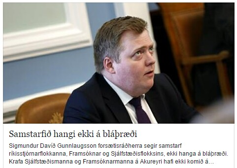 SDG - Hangir ekki á bláþræði